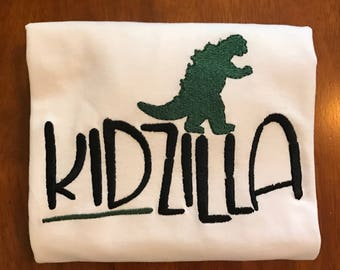 Kidzilla Shirt or Baby Bodysuit