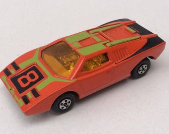 Lamborghini Countach Diecast Toy Car by Matchbox Lesney Superfast Number 27 - 1970s