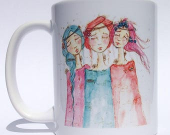 Soul Sisters Mug ~ We are the Three