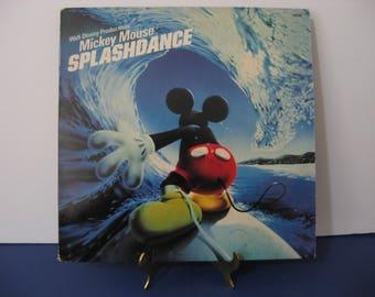 Walt Disney - Mickey Mouse Splashdance - Circa 1983