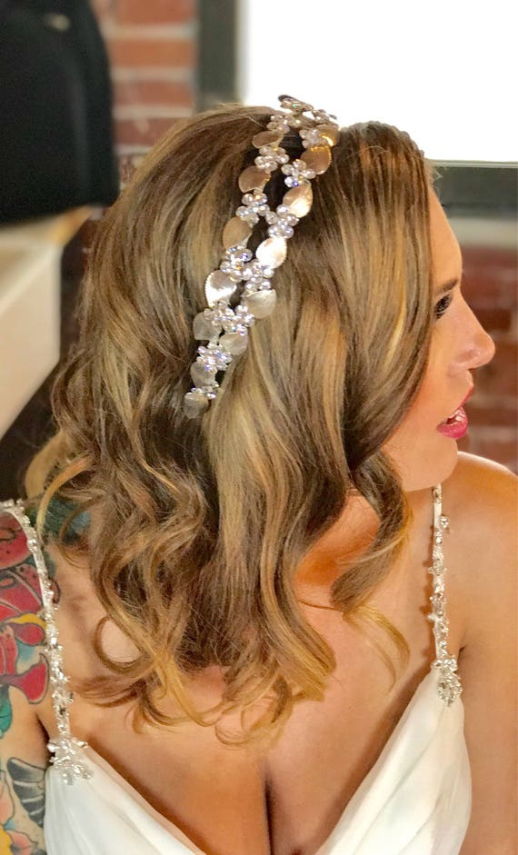 Wedding Headband, Crystal Bridal Headband, Headpiece, Tiara, Bridal Crown, Bridal Headband, Wedding Hairpiece, Crown -ENCHANTED DREAMS