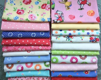 20 Fat Quarter Bundle - Lakehouse Dry Goods - Pam Kitty Morning, Holly Holderman
