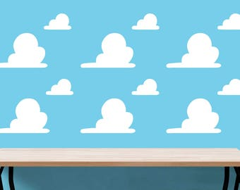 Wall Clouds, Big and Small Toy Story Wall Decal - Andy's Clouds from Toy Story
