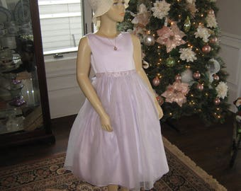 Vintage girl's party dress
