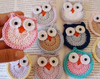 Crochet Owl Baby Shower Favor , Blue Baby Shower , Kidu0027s Party Favors ,  Crochet Owls