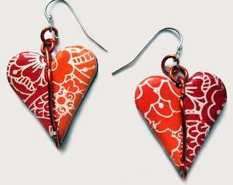Earrings hearts 1