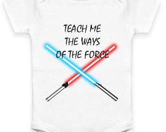 "Star Wars ""Ways of the Force"" Baby Clothes"