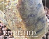 Turmeric Soap; Lemongrass & Sweet Orange Vegan Soap