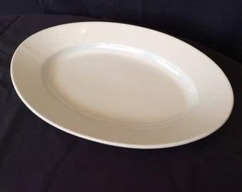 Seltmann Weiden Bavaria Platter~Antique Bavaria Stoneware~Vintage White Platter