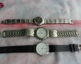 Sale on 3 Vintage  Watches for Upcycling