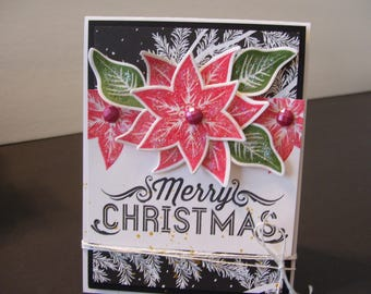 Merry Christmas Card  -  Fun Stampers Journey