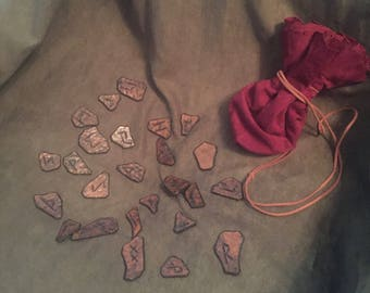 Leather Rune Tokens