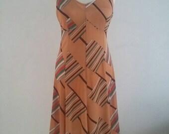 Vintage 70s slip dress