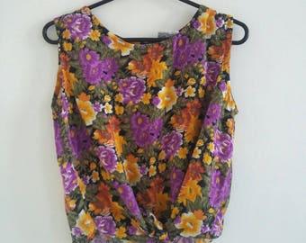 vintage 80s vest