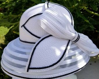 White lampshade  hat