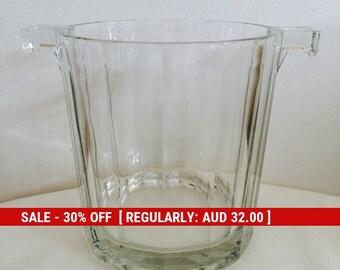 Mid century Ice Bucket Glass for a retro bar