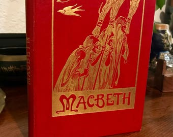 "Antique Early 1900's The Lamb Shakespeare for the Young ""Macbeth""."