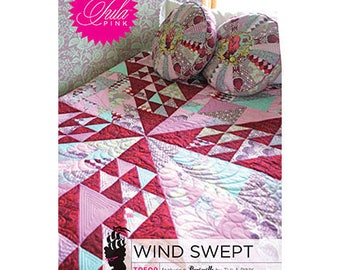 Wind Swept Quilt Pattern by Tula Pink