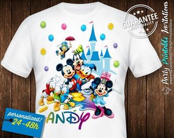 Birthday Shirt Disney, Disney Family Shirts Iron On, Disney Shirts For Family Iron On, Disney Shirts For Girls, Disney Shirts For Boys