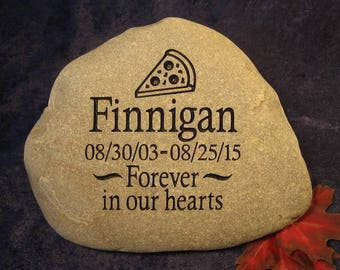 Custom Engraved Pet Memorial/Grave markers/Headstones