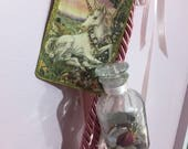Unicorn Magick Spell Cord for Aid with Psychic Abilities