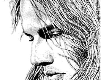 40% OFF Sale David Gilmour Drawing T shirt