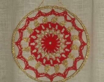 DreamCatcher crochet mandala