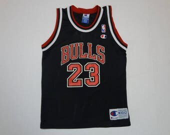 Chicago Bulls Michael Jordan Jersey Shirt Vintage 1990s M 10-12