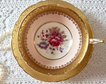 Pink Paragon China Tea Cup & Saucer Teacup Set