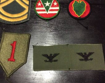 Military - US Vintage Military Patches