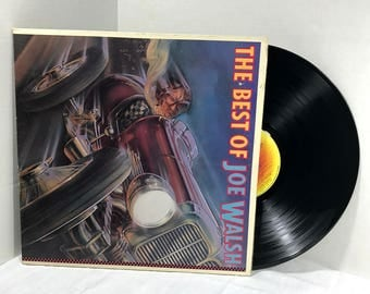 The Best Of Joe Walsh vinyl record 1978 VG+