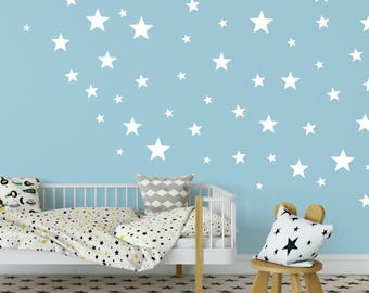 Star Wall Decals   Star Wall Stickers   Kids Wall Decoration   Baby Room  Decal