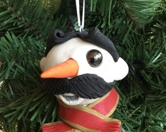 Handcrafted Natty Boh-man Ornament