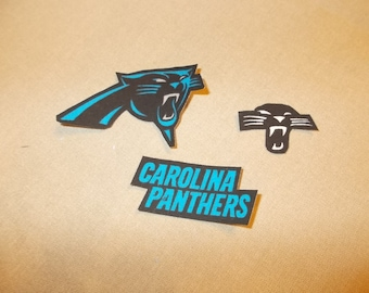 Appliques - NFL - Carolina Panthers - Sew On or Iron On