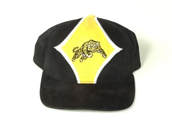 STARTER CFL football Hamilton Tigercats  Snapback Snap back Strapback hat One Size Adult Unisex cotton velcro back