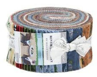 River Journey Jelly Roll by Holly Taylor for Moda Fabrics. 6680JR