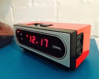 Vintage 1970's Copal Alarm Clock