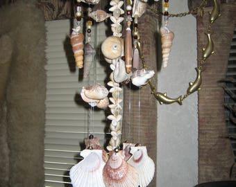 Genuine Starfish Seashell Windchime 'Handmade by me'