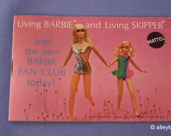 Mod Living Barbie and Living Skipper Fashion Booklet, Near Mint
