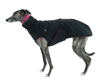 Dog Waterproof & Windproof Winter coat  - Custom made with outer Softshell and inner Fleece
