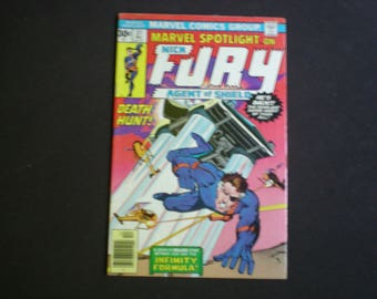 Marvel Spotlight 31, (1976), Nick Fury, Agent of Shield Marvel Comics M2
