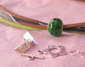 KIT * bracelet mini cuff * with Pearl CHARM
