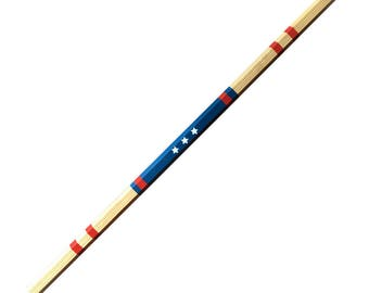 Custom Hand Painted - Men's Ash Lacrosse Shaft - 30""