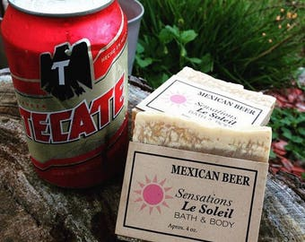 MEXICAN BEER SOAP