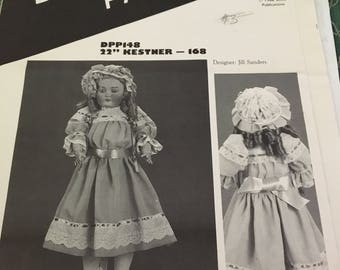 22 inch Kestner doll dress pattern