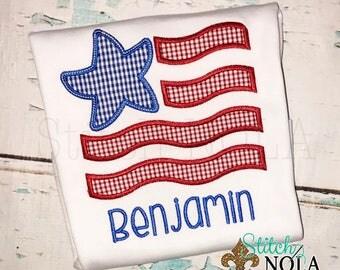 STAR FLAG Tee, Bodysuit, Dress, Bubble, Unisex Bubble, Ruffle Bubble, Romper, Flutter Bubble, Patriotic Applique, Flag Applique