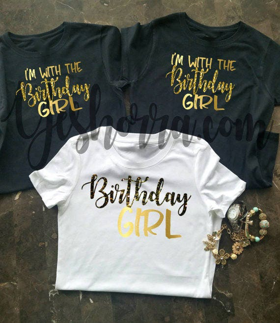 Birthday Party Shirts Group Crew