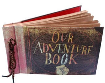 Our Adventure Book, Guest Book, Engagements, Photo Album, Memory Book, Wedding Album, Scrapbook, Handmade, Wedding, Present, Gift