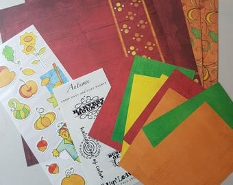 Creative Memories Additions Kit 12x12 Primary Autumn