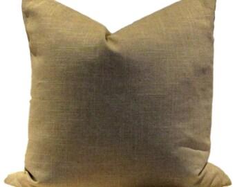 Robert Allen Natural Oatmeal Linen Pillow Cover